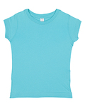 Toddler's 4.5 oz. Girls' Fine Jersey Longer Length T-Shirt