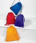 UltraClub Zippered Drawstring Backpack