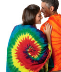 Tie-Dye Tie-Dyed Beach Towel